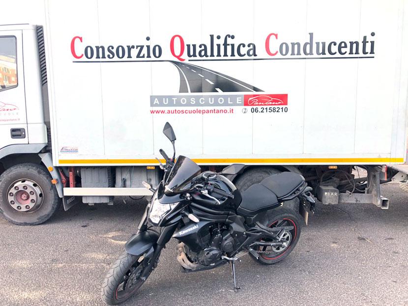 moto per scuola guida patente A autoscuole roma
